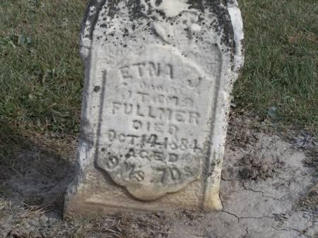 FULLMER, ETNA J. - Keokuk County, Iowa | ETNA J. FULLMER
