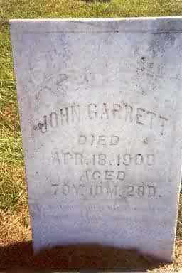 H. GARRETT, JOHN - Keokuk County, Iowa | JOHN H. GARRETT