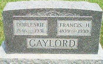 GAYLORD, FRANCIS H. - Keokuk County, Iowa | FRANCIS H. GAYLORD