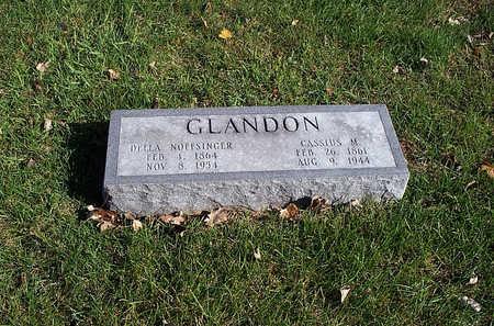 NOFFSINGER GLANDON, DELLA - Keokuk County, Iowa | DELLA NOFFSINGER GLANDON