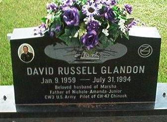 GLANDON, DAVID RUSSELL - Keokuk County, Iowa   DAVID RUSSELL GLANDON