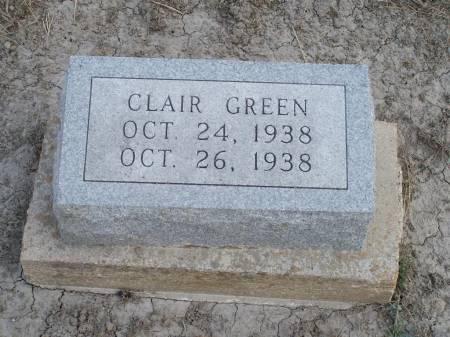 GREEN, CLAIR - Keokuk County, Iowa | CLAIR GREEN