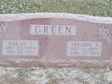 GREEN, ORLAN L. - Keokuk County, Iowa | ORLAN L. GREEN