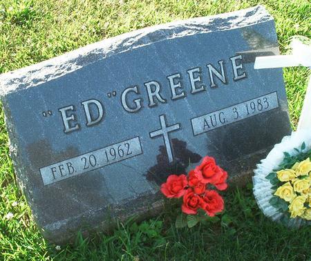 GREENE, ED - Keokuk County, Iowa | ED GREENE