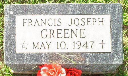 GREENE, FRANCIS JOSEPH - Keokuk County, Iowa | FRANCIS JOSEPH GREENE