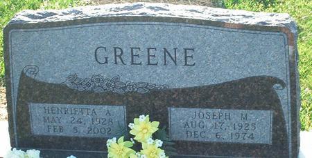GREENE, JOSEPH MICHAEL - Keokuk County, Iowa   JOSEPH MICHAEL GREENE