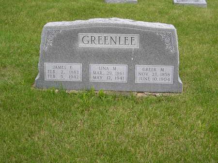 GREENLEE, JAMES E. - Keokuk County, Iowa | JAMES E. GREENLEE