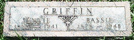 GRIFFIN, RASSIE - Keokuk County, Iowa   RASSIE GRIFFIN