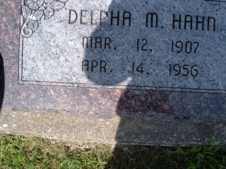 BLACK HAHN, DELPHA M. - Keokuk County, Iowa | DELPHA M. BLACK HAHN