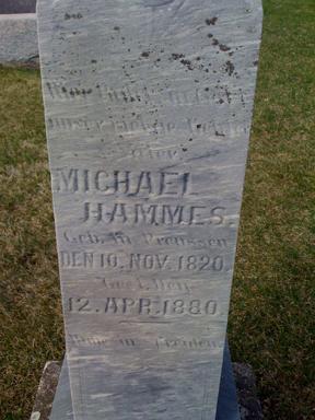 HAMMES, MICHAEL - Keokuk County, Iowa | MICHAEL HAMMES