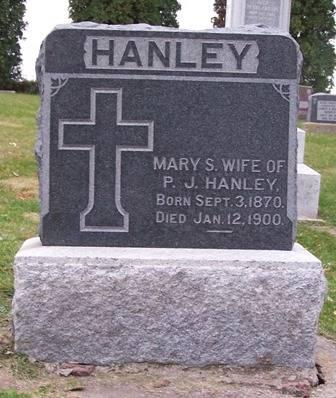 HANLEY, MARY S. - Keokuk County, Iowa | MARY S. HANLEY