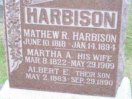 HARBISON, MATHEW R. - Keokuk County, Iowa | MATHEW R. HARBISON