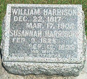HARRISON, WILLIAM - Keokuk County, Iowa | WILLIAM HARRISON