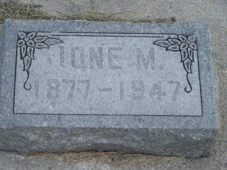 HAZEN, IONE M. - Keokuk County, Iowa | IONE M. HAZEN