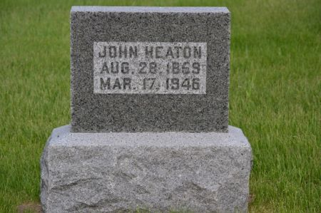 HEATON, JOHN - Keokuk County, Iowa   JOHN HEATON