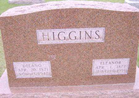 HIGGINS, OMA ELEANOR - Keokuk County, Iowa | OMA ELEANOR HIGGINS