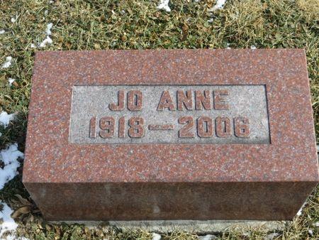 HIGGINS, JO ANNE - Keokuk County, Iowa   JO ANNE HIGGINS