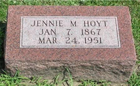 HOYT, JENNIE M. - Keokuk County, Iowa | JENNIE M. HOYT