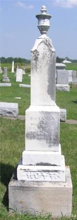 HOYT, SARAH J. - Keokuk County, Iowa | SARAH J. HOYT