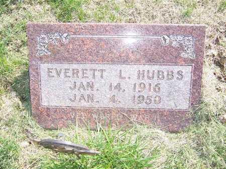 HUBBS, EVERETT - Keokuk County, Iowa | EVERETT HUBBS
