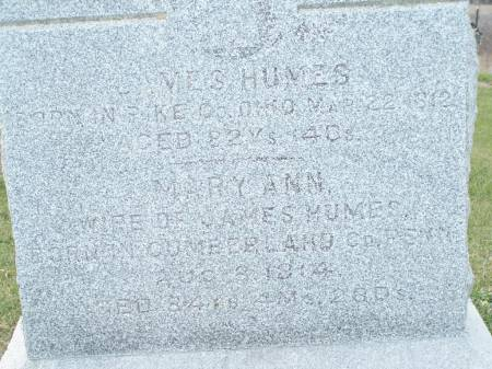 HUMES, MARY ANN - Keokuk County, Iowa | MARY ANN HUMES