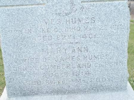 HUMES, JAMES - Keokuk County, Iowa | JAMES HUMES