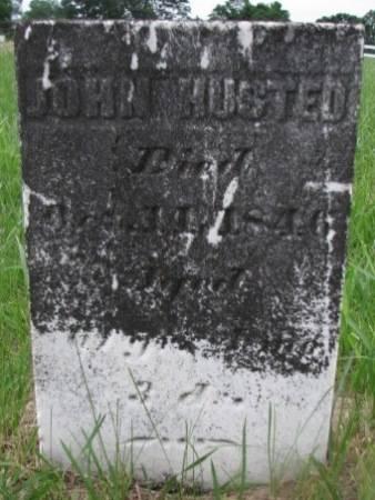 HUSTED, JOHN - Keokuk County, Iowa | JOHN HUSTED