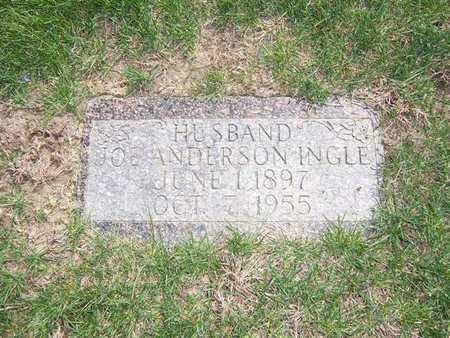 INGLE, JOE ANDERSON - Keokuk County, Iowa   JOE ANDERSON INGLE