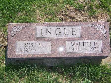 INGLE, WALTER H. - Keokuk County, Iowa | WALTER H. INGLE