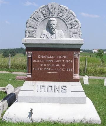 IRONS, CHARLES - Keokuk County, Iowa | CHARLES IRONS