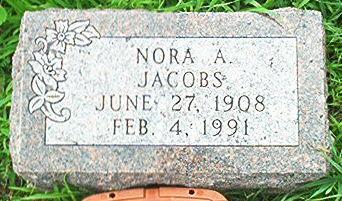 JACOBS, NORA A. - Keokuk County, Iowa | NORA A. JACOBS