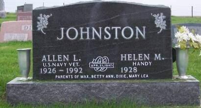 JOHNSTON, ALLEN L. - Keokuk County, Iowa | ALLEN L. JOHNSTON