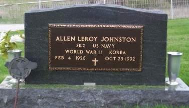 JOHNSTONE, ALLEN LEROY - Keokuk County, Iowa | ALLEN LEROY JOHNSTONE