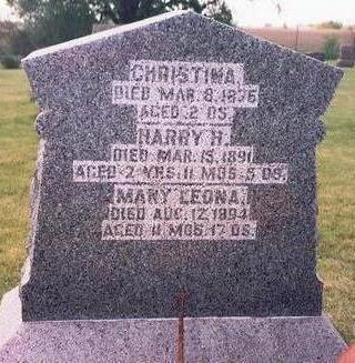JONES, CHRISTINA - Keokuk County, Iowa | CHRISTINA JONES