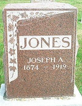 JONES, JOSEPH A. - Keokuk County, Iowa | JOSEPH A. JONES
