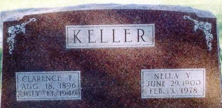 MILBURN KELLER, NELLA V. - Keokuk County, Iowa | NELLA V. MILBURN KELLER