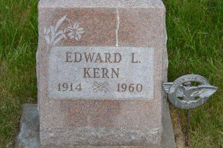 KERN, EDWARD L - Keokuk County, Iowa | EDWARD L KERN