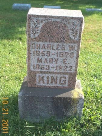 GREEN KING, MARY E - Keokuk County, Iowa | MARY E GREEN KING