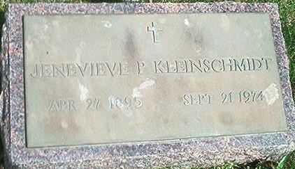KLEINSCHMIDT, JENEVIEVE - Keokuk County, Iowa | JENEVIEVE KLEINSCHMIDT