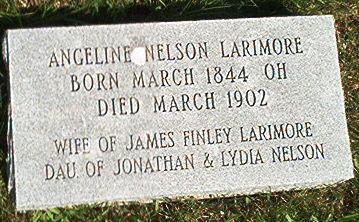 NELSON LARIMORE, ANGELINE - Keokuk County, Iowa | ANGELINE NELSON LARIMORE