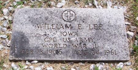 LEE, WILLIAM E. - Keokuk County, Iowa | WILLIAM E. LEE