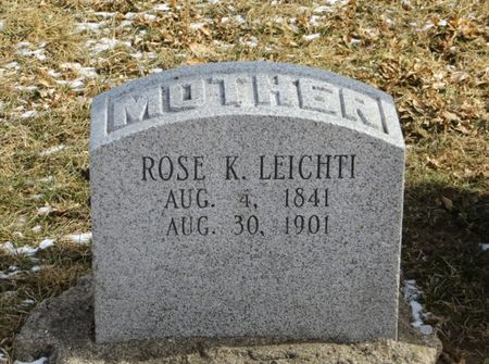 LEICHTI, ROSE K. - Keokuk County, Iowa | ROSE K. LEICHTI