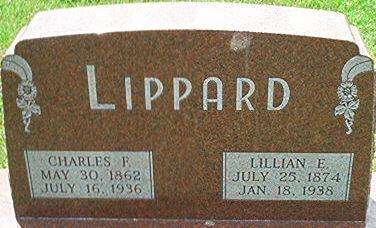 LIPPARD, LILLIAN E. - Keokuk County, Iowa | LILLIAN E. LIPPARD