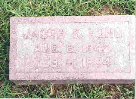 LONG, JACOB KESTER - Keokuk County, Iowa | JACOB KESTER LONG