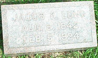 LONG, JACOB K. - Keokuk County, Iowa | JACOB K. LONG
