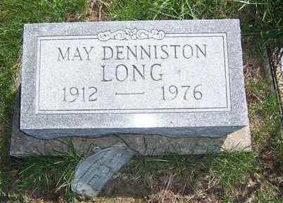 DENNISTON LONG, MAY - Keokuk County, Iowa | MAY DENNISTON LONG