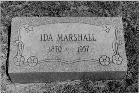 MARSHALL, IDA - Keokuk County, Iowa | IDA MARSHALL