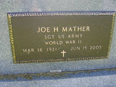 MATHER, JOE - Keokuk County, Iowa | JOE MATHER