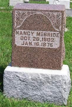 MCBRIDE, NANCY - Keokuk County, Iowa | NANCY MCBRIDE