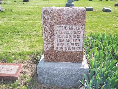 MILLER, LOTTIE - Keokuk County, Iowa | LOTTIE MILLER